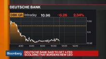Deutsche Bank Scolded by the Fed