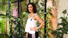 Luz María Zetina y su arriesgada forma de esculpir su figura