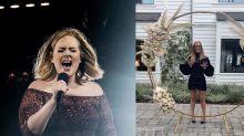 """Adele posta foto 45 kg mais magra e surpreende: """"Parece outra pessoa"""""""