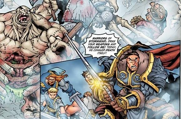 Blizzard previews issue 19 of the WoW comic book