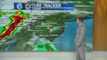 AccuWeather: More heat today; storms expected tonight