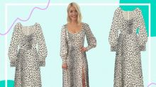 Love Holly Willoughby's animal print dress? It's from this sustainable fashion brand
