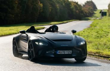 無遮罩限量超跑Aston Martin V12 Speedster邁入動態展示階段