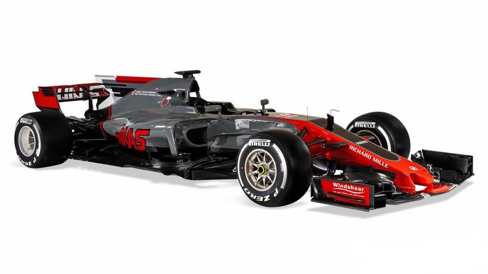 Haas車隊二代F1賽車週日正式露面
