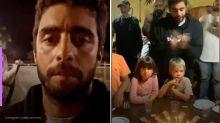 Pedro Scooby celebra aniversário dos filhos com churrasco