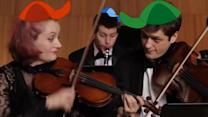 Carnegie Hall Ensemble Plays Cartoon Theme Song Mashup