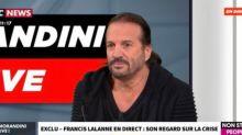 """Morandini Live : Francis Lalanne soutient """"la grève et les Français qui se rebellent"""" (vidéo)"""