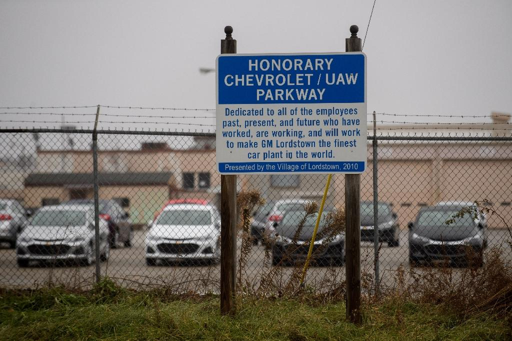 The GM Lordstown Plant in Ohio, one of five in North America where the automaker said it would end production