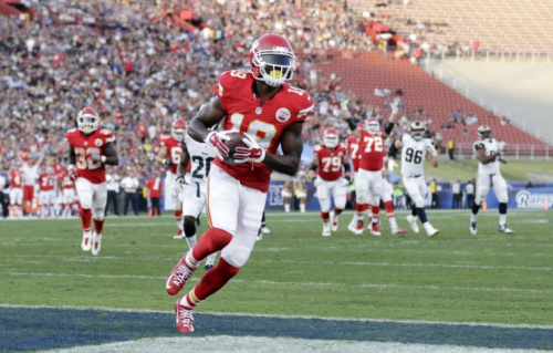 Free agent receiver Jeremy Maclin agreed to a deal with the Ravens. (AP)