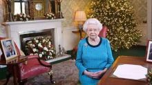 Buckingham Palace has released photos of this year's Christmas decorations