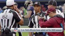 Garafolo: Five on-field officials opt out for 2020 season