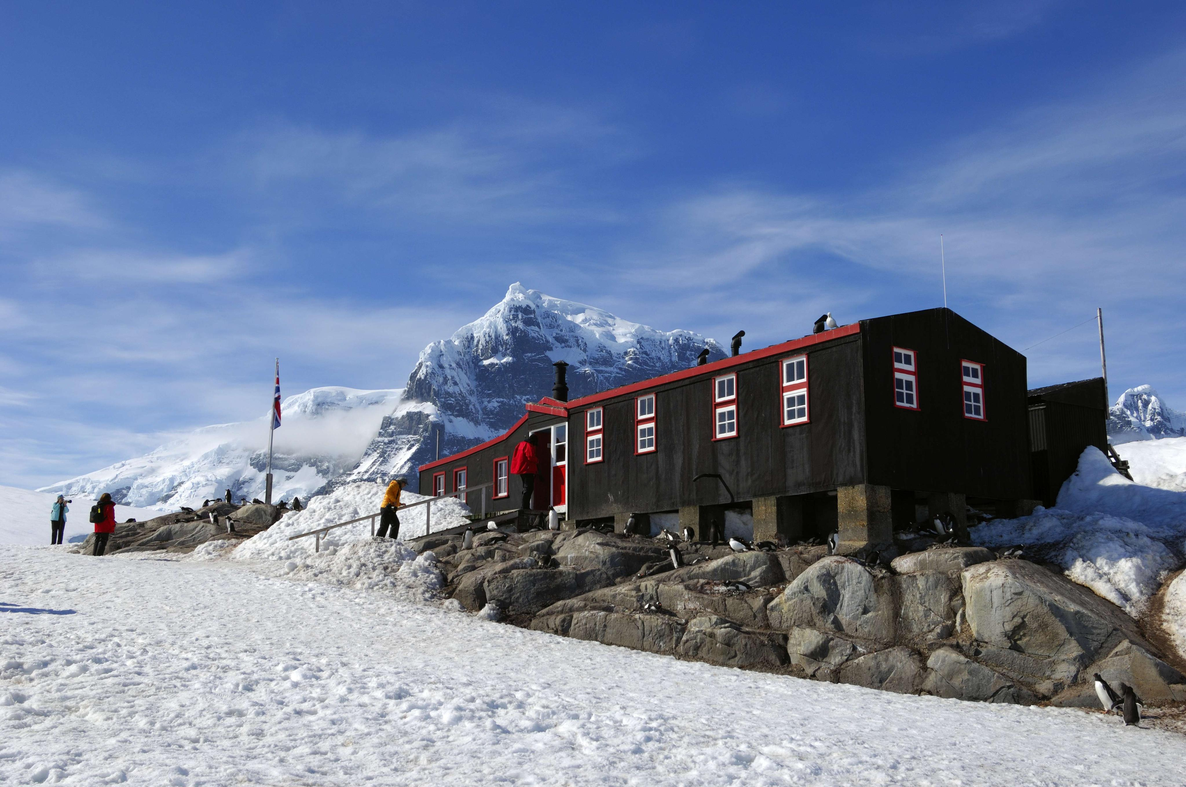 Antarctica post office seeking job applicants who can for Port lockroy