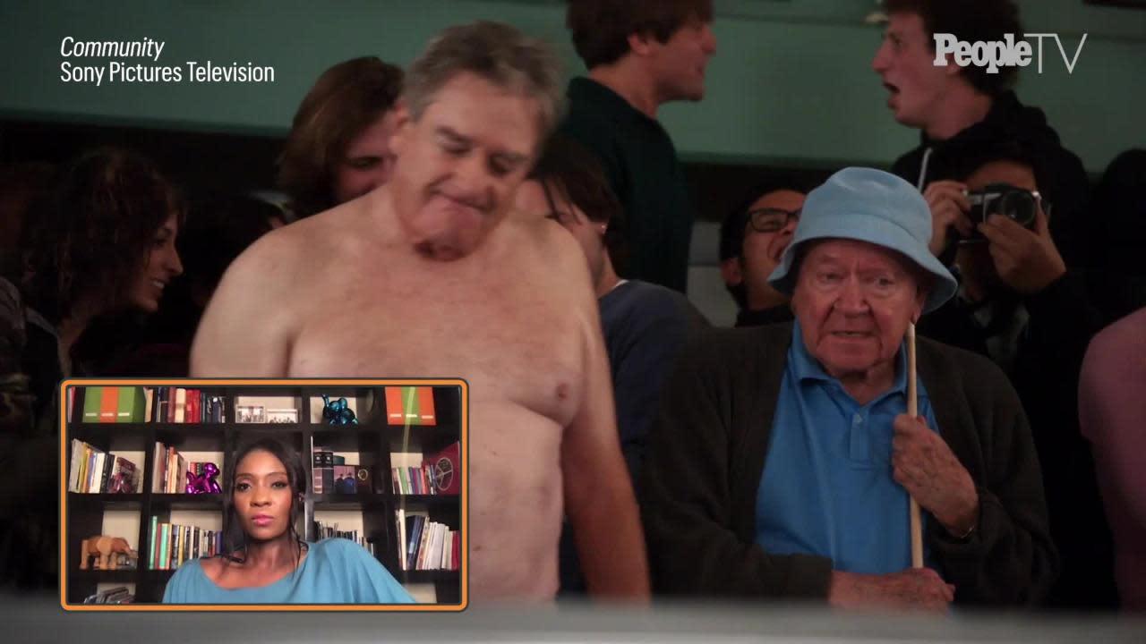 Joel McHale Looks Back on Going Nude on Community, Jokes