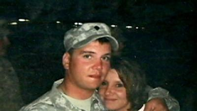 Wounded Guardsman's Mom Counts Her Blessings