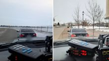 'Blatant disregard': BMW driver stopped twice in 20 minutes by police
