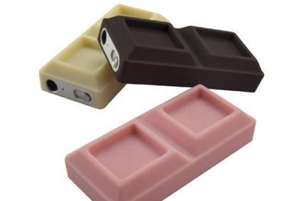 ChocoShuffle iPod shuffle case could be chocolate, could be laxative