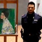 Stolen Klimt painting mystery 'solved' by Italian gardener