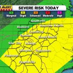 Line of storms could bring severe weather, damaging winds to NC
