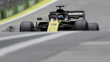 Ricciardo recovers from Brazil GP incident