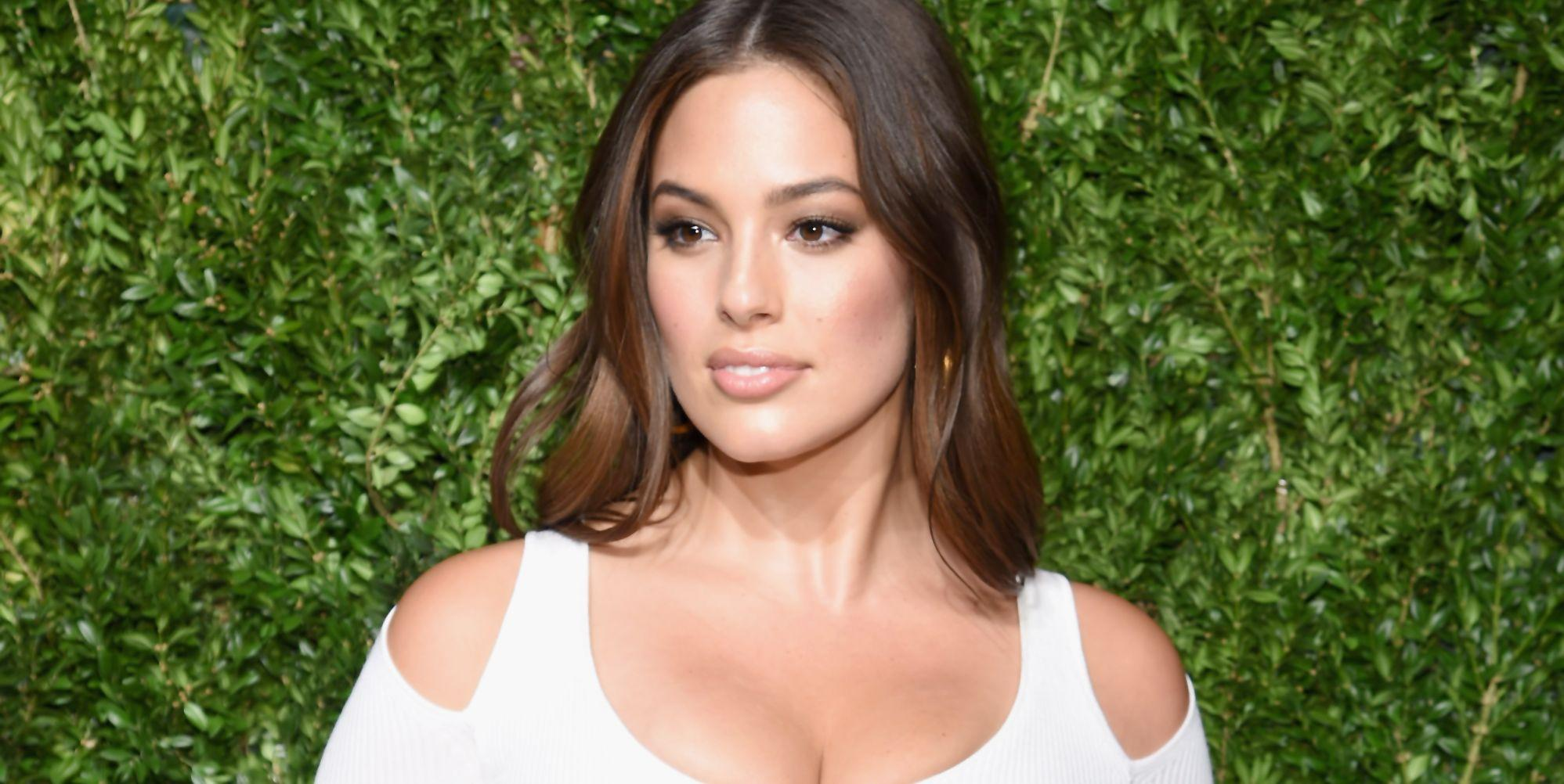 Ashley Graham praised for showing armpit hair in naked photo