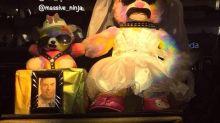 Louis Tomlinson Confirms He's Behind Rainbow Bondage Bear Before Posting Cryptic Warning?