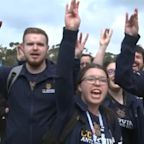 UC Irvine fans send off Anteaters to NCAA tournament