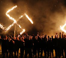 Neo-Nazis Burned a Swastika After Their Rally in Georgia