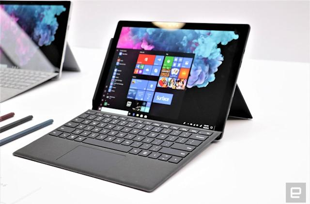 Surface Pro 6 hands-on: Same looks, but a huge speed bump