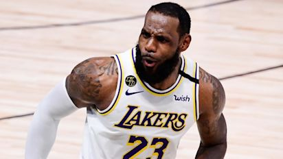 LeBron agrees to huge Lakers extension