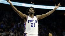 Joel Embiid, still not cleared for full contact, expects to be in training camp