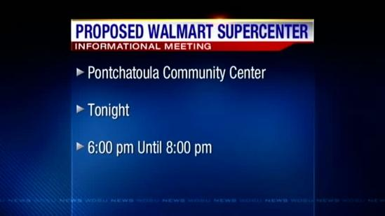 Meeting to be held in Ponchatoula on proposed Walmart