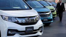 Honda sees auto sales edging up, profit sliding in 2017/18