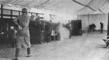 Cuando los duelos con balas de cera participaron como deporte de exhibición en los JJOO de Londres 1908