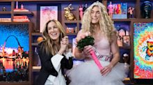 The Internet's favorite Carrie Bradshaw drag queen fan finally got to meet Sarah Jessica Parker