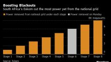Record Blackouts Shut South Africa Mines as Recession Risk Rises