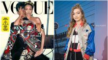 Gigi Hadid, irreconocible en la polémica portada de Vogue Italia