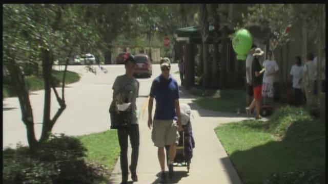 Move-in day at University of South Florida