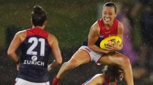 Knee injury sours Melbourne's AFLW victory