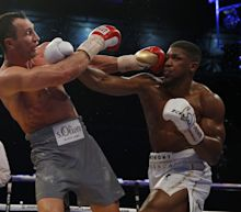 Anthony Joshua stops Wladimir Klitschko to become unified heavyweight champion - as it happened