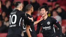 Pressure mounting on Unai Emery as Arsenal surrender lead in loss to Frankfurt
