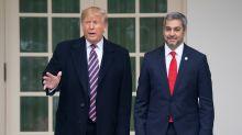 Trump recibe a Abdo Benítez con Venezuela y Bolivia como temas de interés