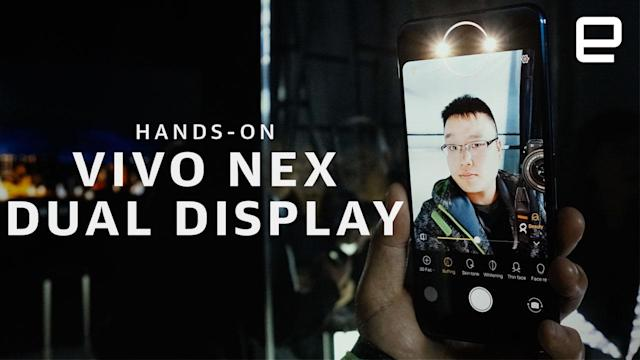 Vivo's all-screen NEX goes dual-display to ditch the pop-up camera