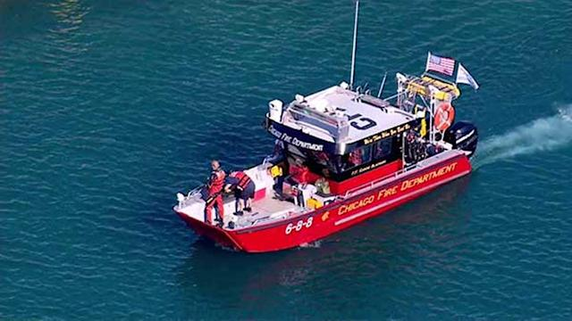 Crews continue search after two pulled from Lake Michigan near Bronzeville