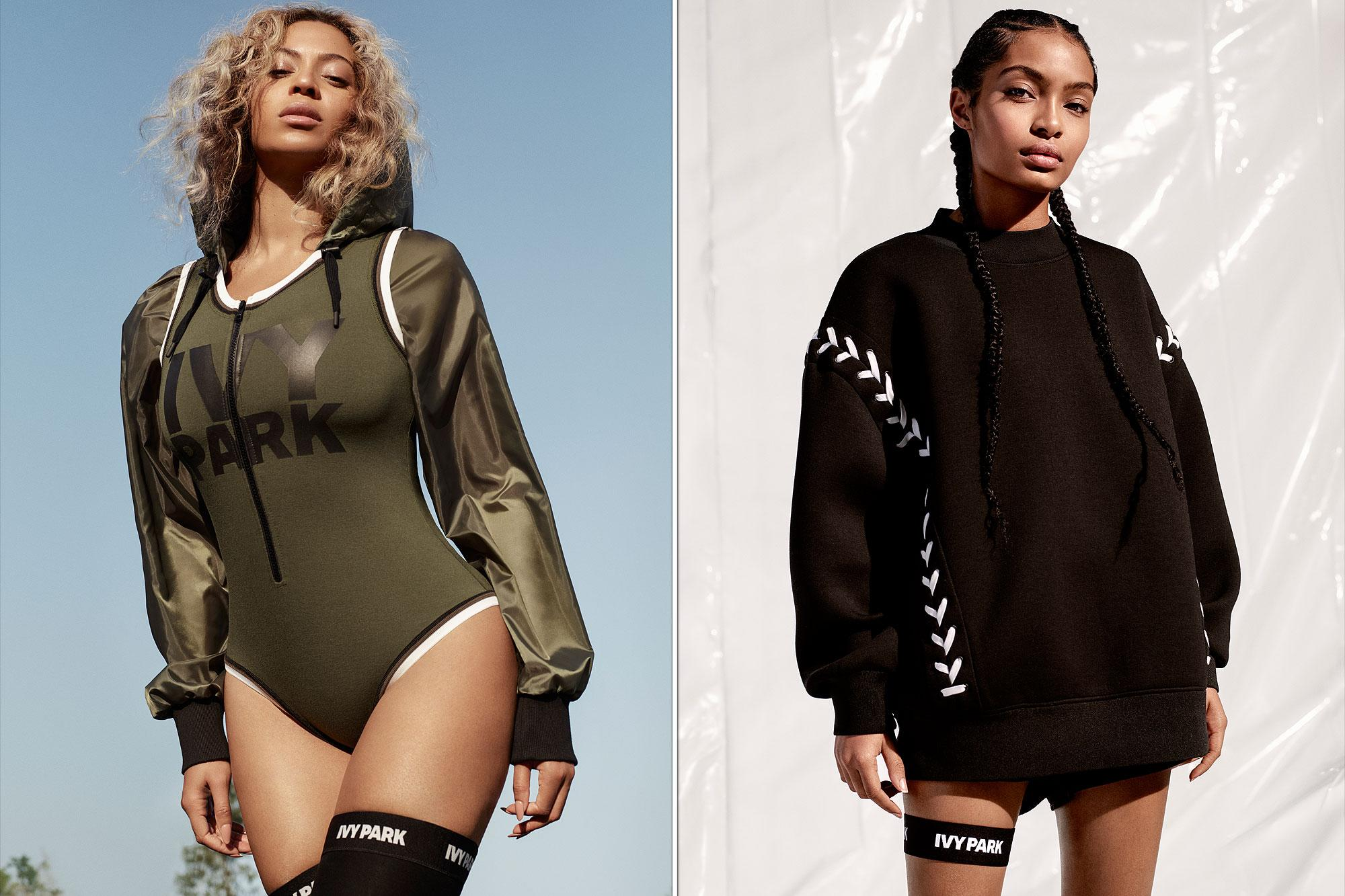 Beyonce Unveils New Ivy Park Spring Ads with Yara Shahidi ...