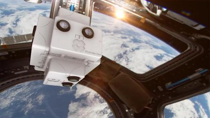 Virtual reality video project will immerse you in space
