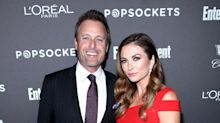 Bachelor Host Chris Harrison Beams While Making Red Carpet Debut with Girlfriend Lauren Zima