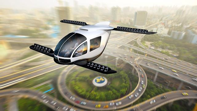The reality of pollution kills your dream of a flying car