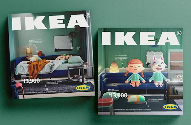 IKEA Taiwan recreates its iconic catalog using Animal Crossing