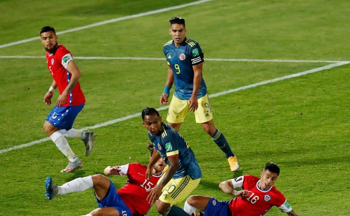 Colombia vs. Chile: Fecha, hora y canal para ver EN VIVO el partido por la Fecha 10 de las Eliminatorias Qatar 2022