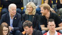 La broma que una vez hizo Joe Biden al príncipe Harry sobre su esposa Jill